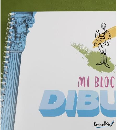 "Bloc de dibujo ""mi bloc"""