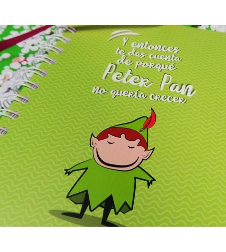 LIBRETA PETER PAN